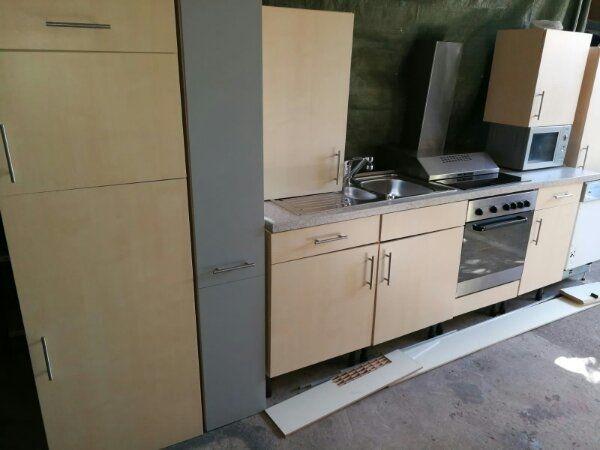 Einbauküche / Küchenzeile / Küchen mit Geräten / Impuls / Abgebaut ...