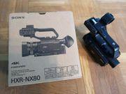 Sony HXR-NX80 Camcorder mit Rechnung