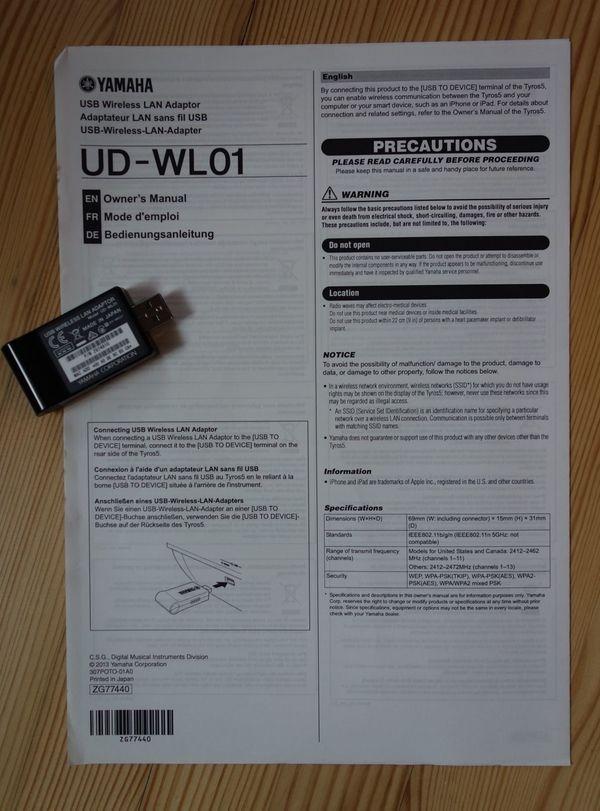 Yamaha UD-WL01 WLAN Adapter für