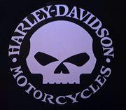 Aufkleber Vinyl Reflektierend Harley Davidson