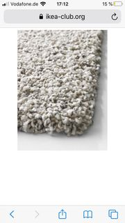 IKEA Alhede Hochflor Teppich 160x240