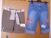 kurze Hosen für Mädchen 128 - 140 -