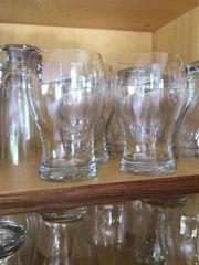6 Stück Kristall Gläser 0