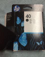 HP Druckpatrone schwarz