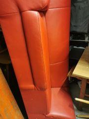 Rotes sofa 2 Plätze