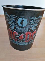 Papierkorb AC DC Black Ice