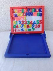 Kinder Lernspiel mit Magnettafel Buchstaben