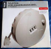 Telefon Verlängerungskabel 10 Meter