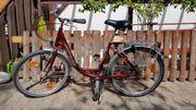 Fahrrad Citybike Victoria Amrum rot
