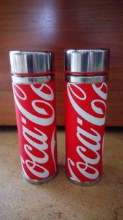 2 Coca-Cola Isolierflaschen 125 Jahre