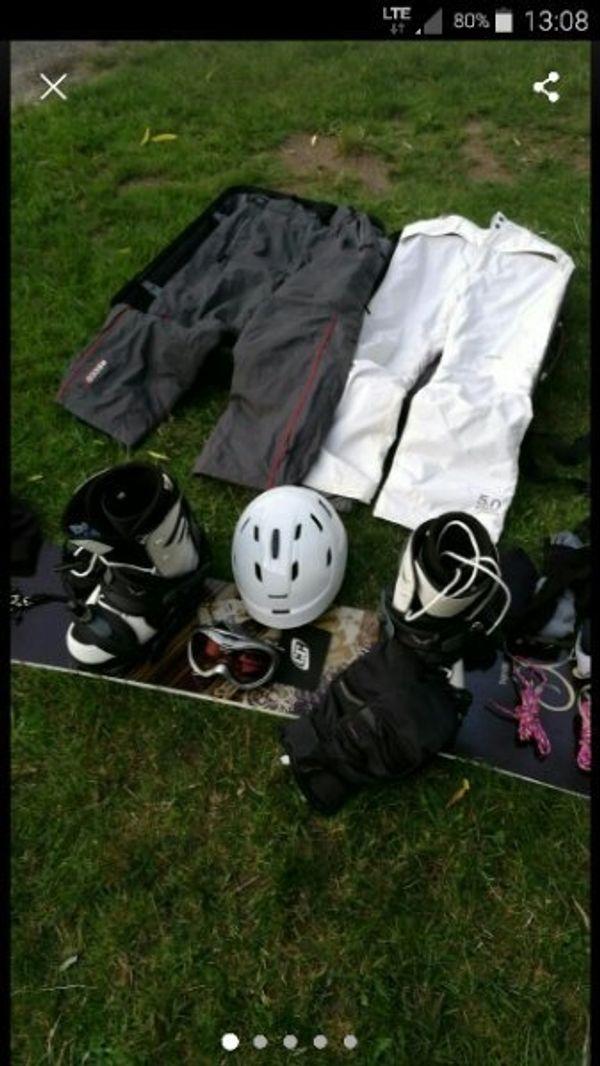 Snowboard Trans Supreme Paket Set