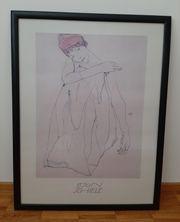 EGON SCHIELE Kunstdruck 85x65cm