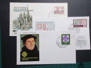Briefmarken BRD Ersttagsbriefe 1959 62
