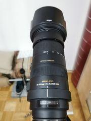 Objektiv Sigma SA 50-500mm f4