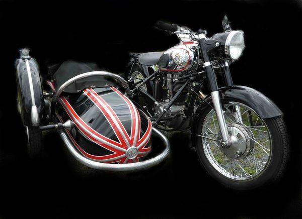 Suche Oltimer Motorrad Horex Regina