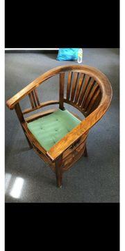 Teakholz Stuhl Sehr guter Zustand