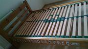 Echtholzbett 100 x 210 cm