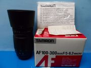 Tamron AF Tele-Macro Objektiv 100-300