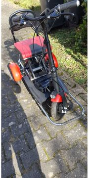 Elektromobil-MoBot klappbar mit Doppelmotor und