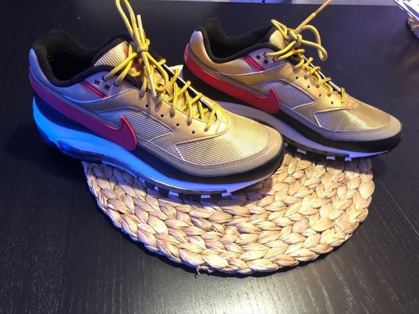Nike Air Max BW Edition Gold Gr.42.5 in Wiesloch Schuhe
