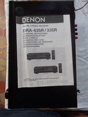 Receiver Denon DRA 435 R