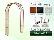 Eisen- Metall- Gartenbogen MALAGA Breite