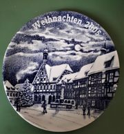 Limitierter Jahresteller Weihnachten 2005 Forchheim