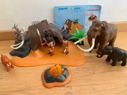 Plaxmobil Steinzeitmenschen plus Mammuts und