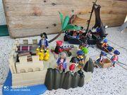 Playmobil Piratenschiff und Insel