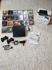 PS 3 mit 21 Spielen
