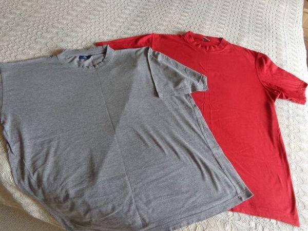 Herrenbekleidung T-Shirts 2 Stück Gr