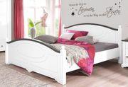 NEU Bett 140x200 hochwertig weiß