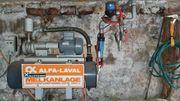 Melkanlage Alfa Laval