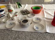 Geschirr für die Spielküche