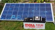 Solarmodul Batterie charge controller