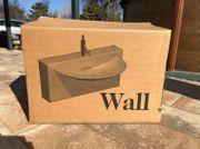 Keramik Waschtisch WALL Monoblock Oroginal