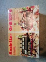 Raclette mit Grillplatte