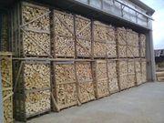 Trockenes Brennholz hat eine Restfeuchte
