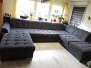 Sofa Garnitur Wohnlandschaft