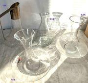 Glas Karaffen Weinkrüge lustige Biergläser
