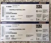 2x Highfield Festival Tickets Grüner