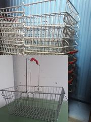 Handkorb Draht verzinkt NEU Einkaufskorb