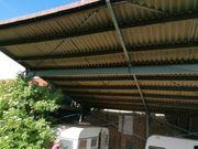 Überdachung, Stahl Konstruktion gebraucht kaufen  Niederkirchen