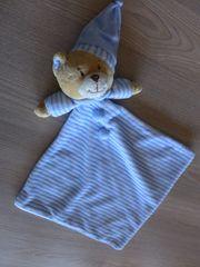 Schmusetuch Kuscheltuch Babytuch Schnuffeltuch Bär