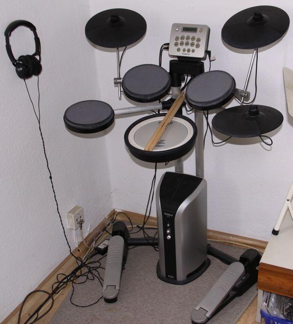 Roland E-Drumset HD-3 Übungsset