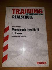 Realschule Mathematik 8 Klasse -Grundwissen