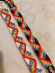 Armbänder Regenbogen Bunt CSD Pride