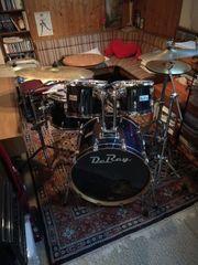 Schlagzeug Fusion Set zu verkaufen