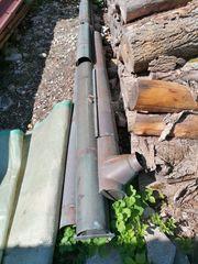 Gebrauchte Kupfer Dachrinnen 333 aus