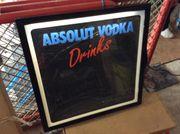 Werbungstafeln Beleuchtet Wodka Absolut